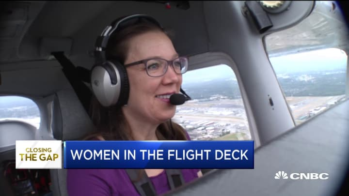 The world needs pilots: Where are the women?