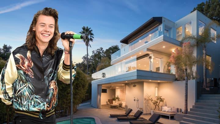 Look inside Harry Styles' former LA mansion and 7 other celebrity estates