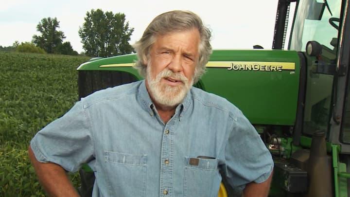 Christopher Gribbs, a soybean farmer from Ohio