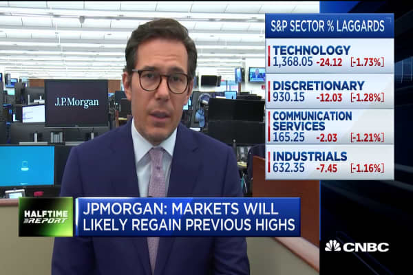 Why this JPMorgan strategist says markets likely to regain highs