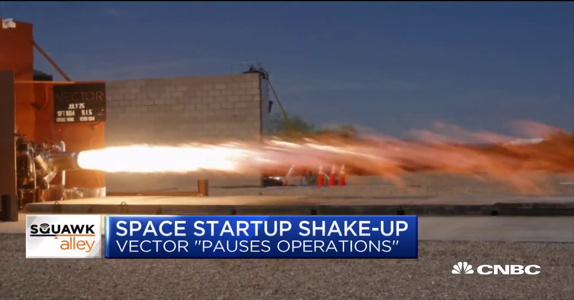 Space start-up Vector 'pauses operations', lays off employees