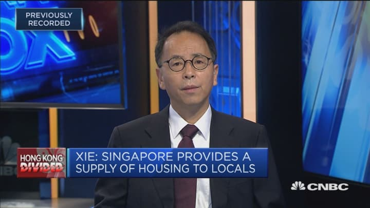 A recession in Hong Kong is 'inevitable,' says economist