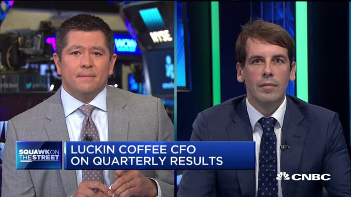 Luckin Coffee CFO Reinout Schakel on earnings and trade tensions