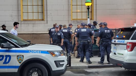 NYPD clears Fulton Street station after reports of