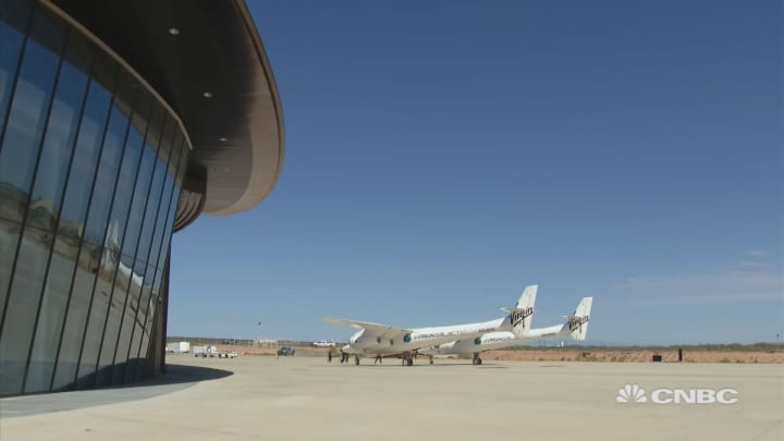 Virgin Galactic unveils first of its kind Spaceport