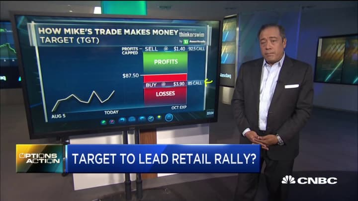 After Walmart's surge, could another retail name be targeting an earnings breakout?