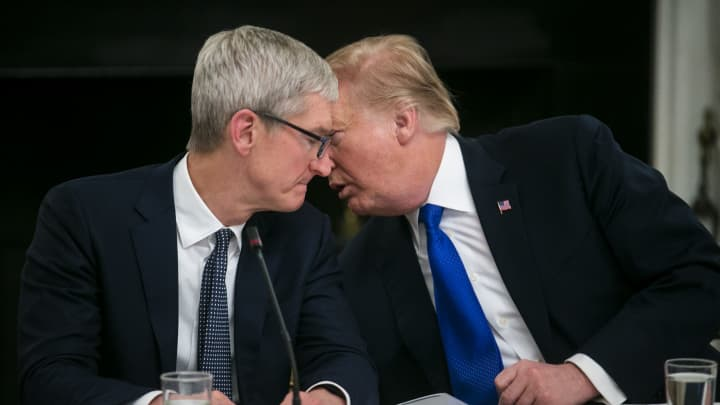 Swisher: Trump might have had a different takeaway from talk with Tim Cook