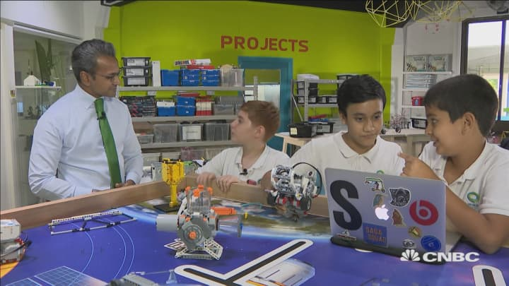 How children in Singapore are learning to code