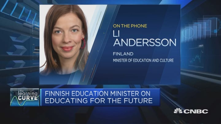 Teaching is a highly-valued profession in Finland: Education minister