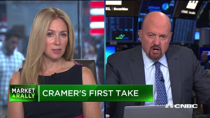 Jim Cramer urges investor caution as markets rebound