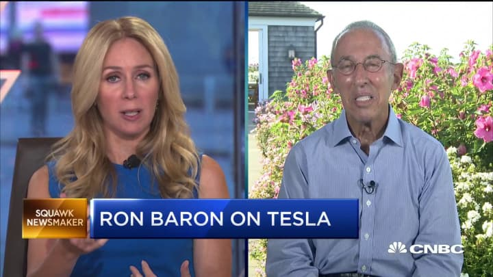 Why Ron Baron is betting on his long-term Tesla investment
