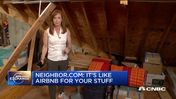Neighbor.com: 'It's like Airbnb for your stuff'