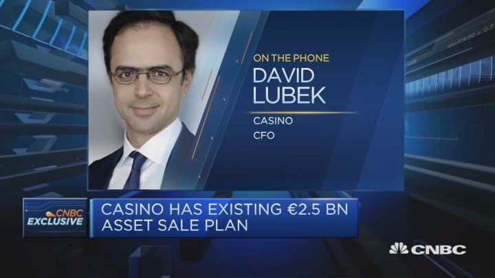 France's Casino to sell assets worth 2 billion euros