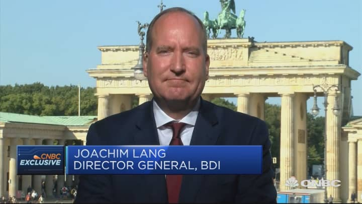 German industry supports EU on Brexit renegotiations, BDI director says
