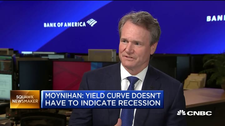 Bank of America CEO Moynihan: The US consumer is a source of strength for the economy