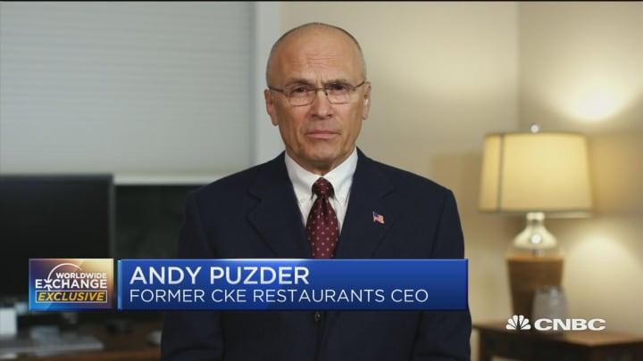 Puzder: Recession worries are overblown