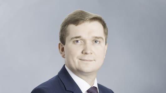 Mikhail Khardikov, Chief Financial Officer of En+ Group.