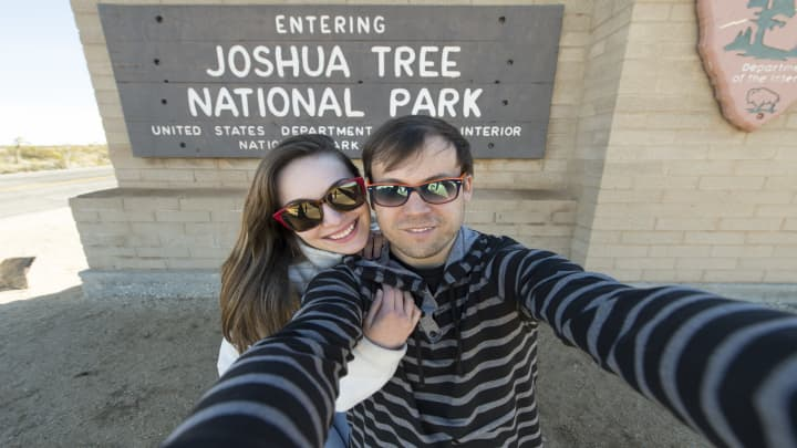 This couple visited 61 national parks in 7 months—here's how they did it without racking up debt