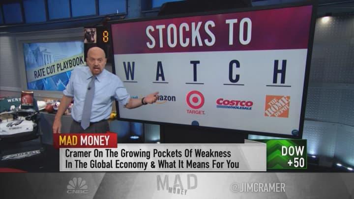 Economic data warrants a Fed rate cut, Jim Cramer says