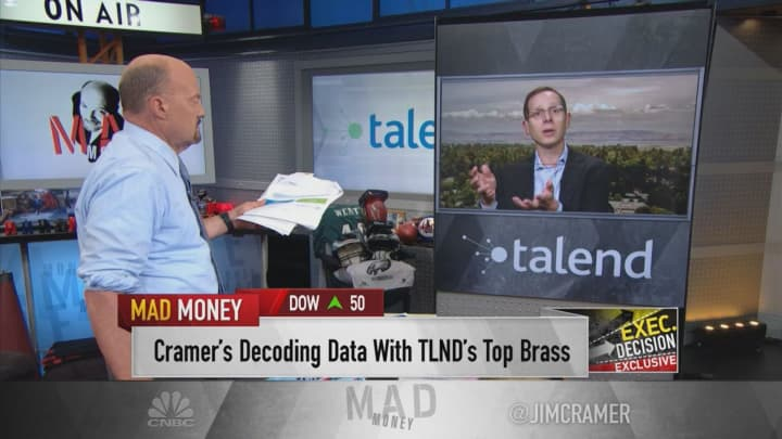 Talend's cloud business is 'growing well over 100%,' CEO Mike Tuchen says
