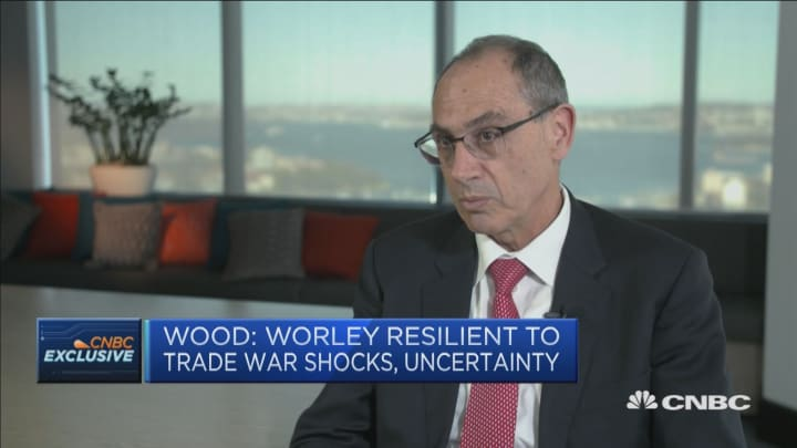 There's been an under investment in oil and gas assets: Worley