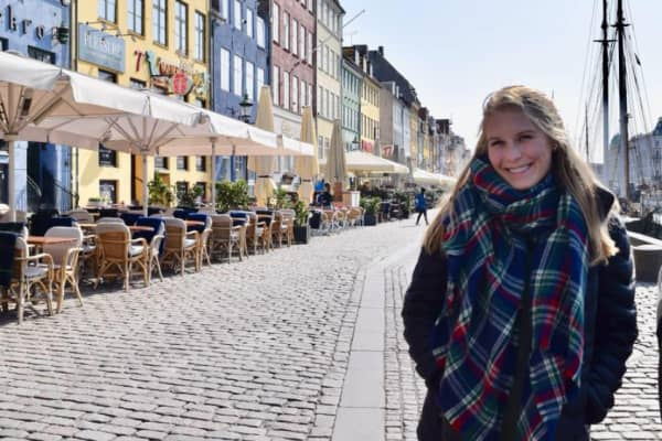 Emma Tiernon traveled to Iceland, Denmark and Sweden for a week with friends in April 2018.