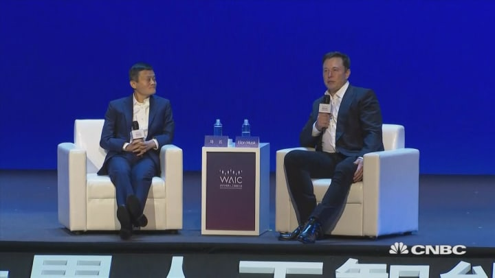 Humans are 'hopelessly inadequate' compared to computers: Elon Musk