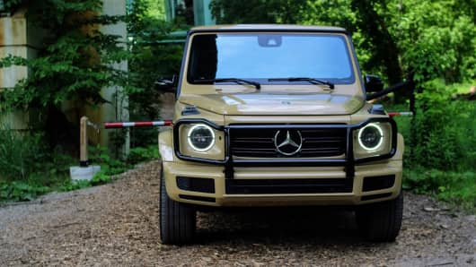 Review: The 2019 Mercedes G550 SUV redefines the luxury, off