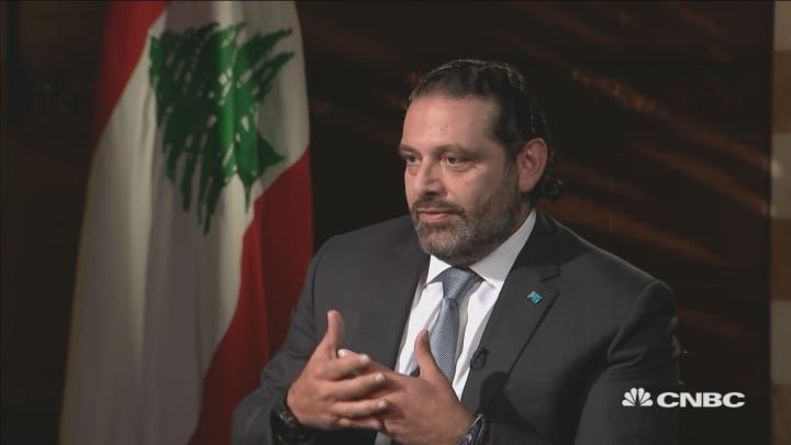 Lebanese pound peg is the 'only stable way' for reform, says Prime Minister Hariri