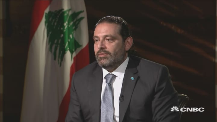 Hezbollah is a 'regional problem,' says Lebanon's prime minister