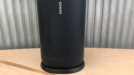 Sonos Move portable speaker announced, features rain resistance