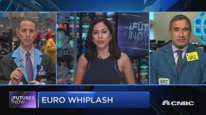 Here's how one trader is playing the euro whiplash following the ECB meeting