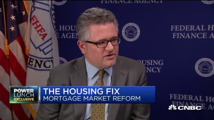 Fannie & Freddie regulator on next steps in mortgage market reform