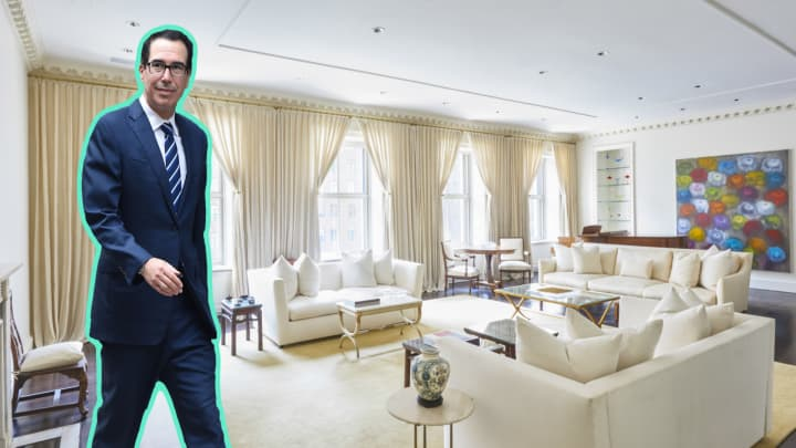 Take a look inside Steven Mnuchin's Park Avenue duplex listed for $27.5 million