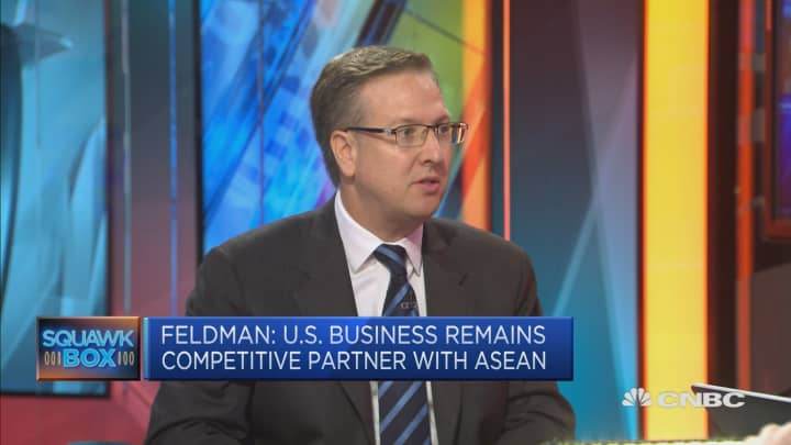 US companies are 'doubling down' on Southeast Asia: CEO