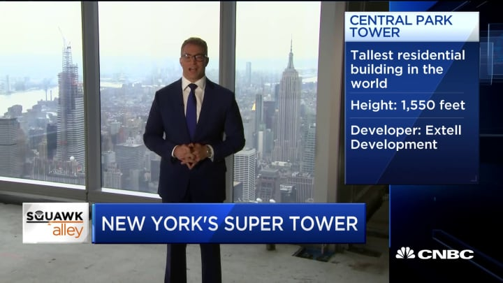 World's tallest residential building nears completion in New York City