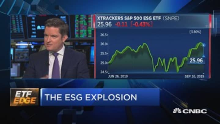 The ESG explosion has arrived. Here's what it means for your money