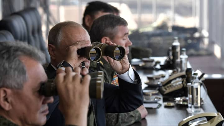 Russia conducts massive military drills with China, sending a message to the West