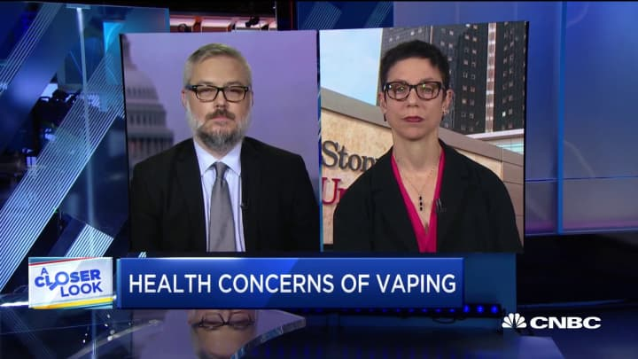 We see flavored e-cigarettes causing conditions like popcorn lung: Dr. Rachel Boykan