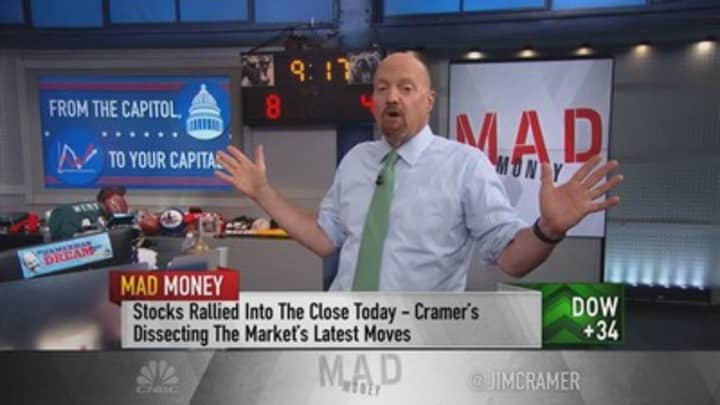 'Stand pat,' even if bulls don't get what they want from the Fed, says Jim Cramer