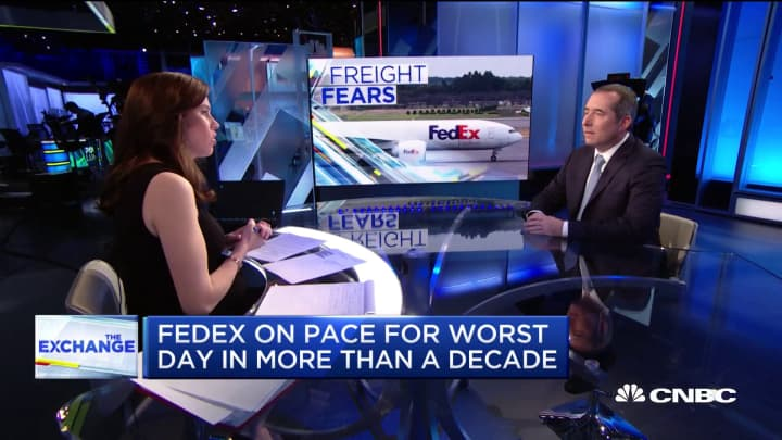 Transportation analyst on what FedEx should do to make a comeback