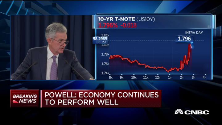 Powell: Trade uncertainty has an effect, seen in weak exports and business investments