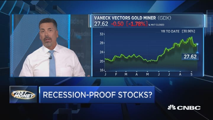 With recession fears on the rise, traders give their recession-proof stocks
