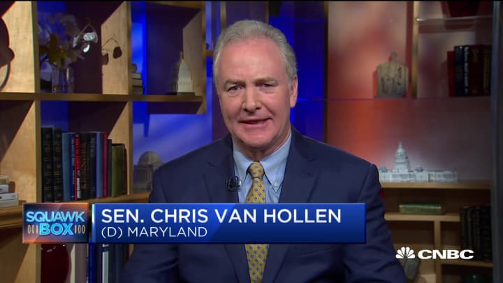 Sen. Chris Van Hollen on US-China trade and preventing insider trading