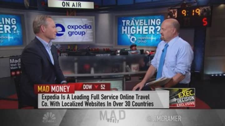 Expedia Group CEO: A 'secular shift' to experiences is 'buoying travel'