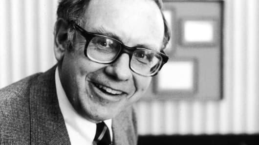 Portrait of Warren Buffett, January 1980.