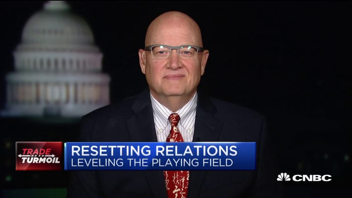 The China trade talks are 'kind of frozen,' APCO Worldwide chair says