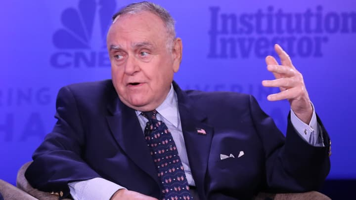 Leon Cooperman at the 2019 Delivering Alpa conference in New York on Sept. 19. 2019.