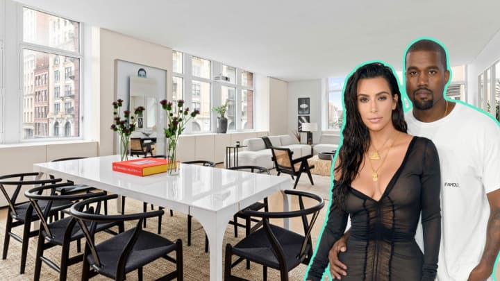 Inside Kim Kardashian & Kanye West's former NYC apartment listed for $4.7 million