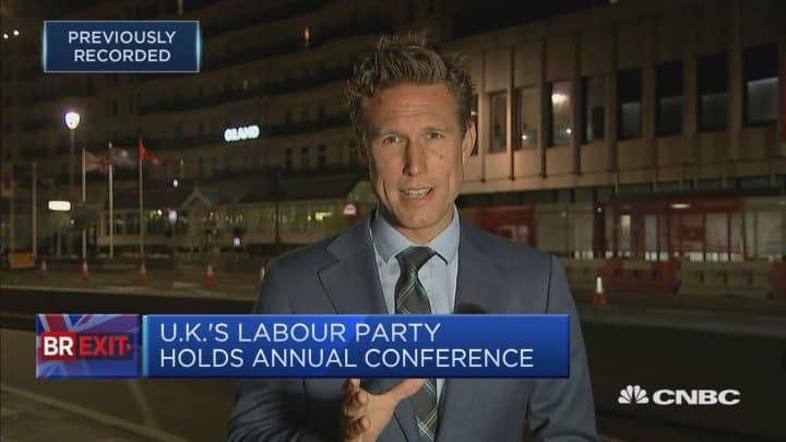UK's Labour Party hosts annual conference